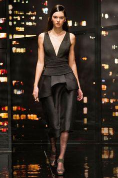 Défilé Donna Karan Automne-hiver 2015-2016 Prêt-à-porter   Le Figaro Madame