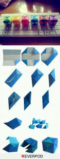 Caixa origami