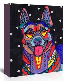 Loving this German Shepard Gallery-Wrapped Canvas on #zulily! #zulilyfinds
