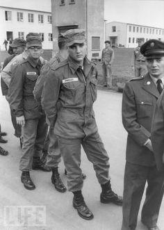 Elvis Presley Military Photo