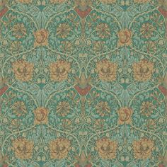 Bat and poppy designed by m p verneuil during - Bat and poppy wallpaper ...