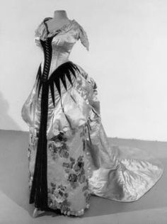 1888 evening gown