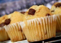 Waniliowe muffinki z kawałkami czekolady