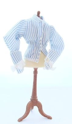 1/12 Scale Dollhouse Miniature Cotton Blouse