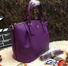 Prada Handbags 8078 Purple