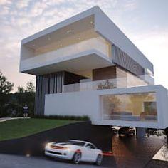 54 Inspiring Underground Parking Design Ideas For Minimalist – House Design Minimalist House Design, Minimalist Architecture, Modern Architecture House, Modern House Design, Interior Architecture, Contemporary Design, Contemporary Apartment, Luxury House Plans, Modern House Plans