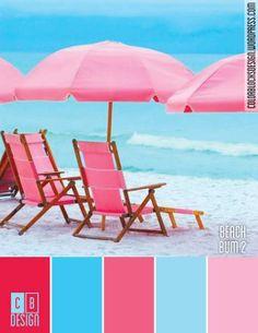 Beach Bum 2 | Color Blocks Design