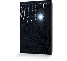 Happy New Year, Blue Moon Greeting Card
