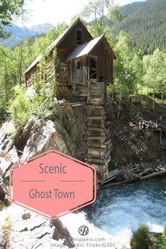 Crystal Ghost Town in Colorado is one of America's most scenic abandoned places, nestled between The Raggeds Wilderness Area and the Maroon Bells-Snowmass Wilderness Area. Image credit: https://www.flickr.com/photos/gsec/6296803566