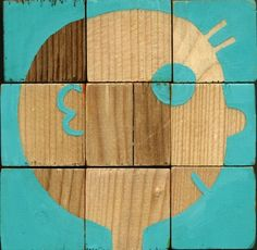6 cubes by Alex F, via Behance