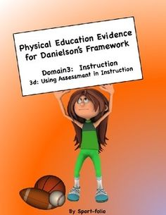 danielson framework in physical education