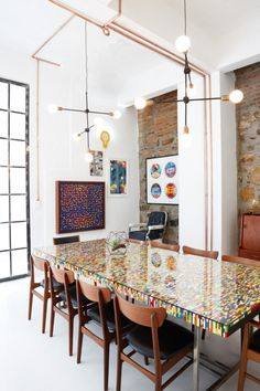 LEGO TABLE!!! RADAR offices by JP de la Chaumette - modern, creative office design