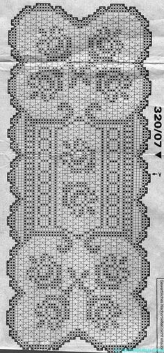 World crochet: Tablecloth 55