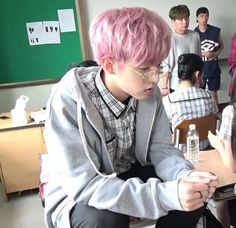 Image in Kpop collection by Nike~ on We Heart It Jae Day6, Young K, Korean Boy, Park Jae Hyung, Time Of Our Lives, Boyfriend Material, K Idols, Pink Hair, Cute Guys