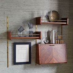 Mid-Century Shelving system that organise your things
