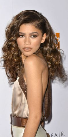 Zendaya : Une Fille En Or Avec Son Beauty Look !
