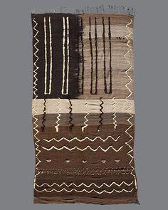 vintage Moroccan rug, Oujda #OU02