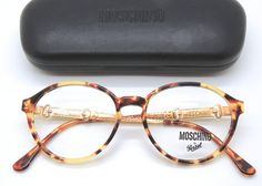 Moschino M45 Vintage Prescription Glasses Frames by eyehuggers