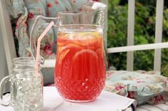 Three Cheers for Simple!(Recipe: Rosemary Peach Lemonade) | Syrup and Biscuits