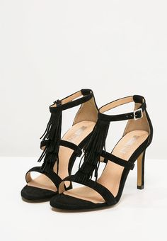 bestil Pier One Højhælede sandaletter / Højhælede sandaler - black til kr 499,00 (26-05-16). Køb hos Zalando og få gratis levering.