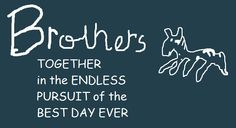 Brothers original logo by PikachuxAsh