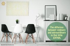Top interior designer in Gurgaon. Comfort study table interior The difference between ordinary and extraordinary is that little EXTRA.  http://madscreations.in