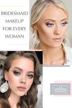 30 Spellbinding Bridesmaid Makeup For Every Woman ❤ Bridesmaids help to bride to shine bright on her wedding day. It is important to choose the right style and suitable bridesmaid makeup. #weddings #weddingforward #bridalmakeup #WeddingMakeUp #makeupideas #BridesmaidMakeup