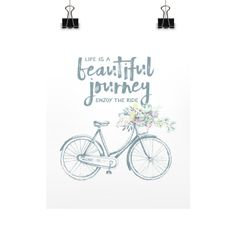 Life is a Beautiful Journey - Art Print