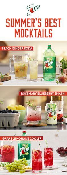 Summer's Best Mocktails.