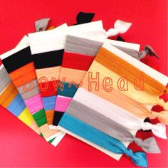 ***SALE*** 2/3/14 - 2/7/14 Mixed 6 pack hair ties...$3 https://www.facebook.com/BowHeadBoutique
