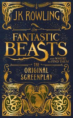 J.K. Rowling's screenwriting debut is captured in this exciting hardcover edition of the Fantastic Beasts and Where to Find Them screenplay.  When Magizoologist Newt Scamander arrives in New York, he intends his stay to be just a brief stopover. However, when his magical case is misplaced and some of Newt's fantastic beasts escape, it spells trouble for everyone…