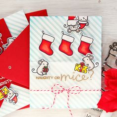 Simon Says Stamp | Have a Merry Christmouse Card + Video