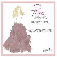 """Pearl is wearing @csiriano   today!  #fashion #fashcom #illustration #fashioncomic #comic #dress #shoes #heels #fashionart #fashionillustration #style…"""