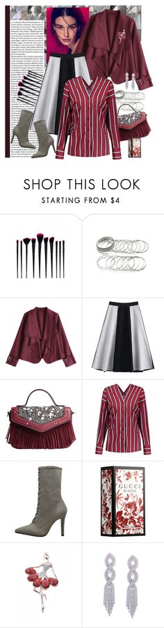 """""""New Office Style"""" by carola-corana ❤ liked on Polyvore featuring Vanity Fair, Gucci and zaful"""