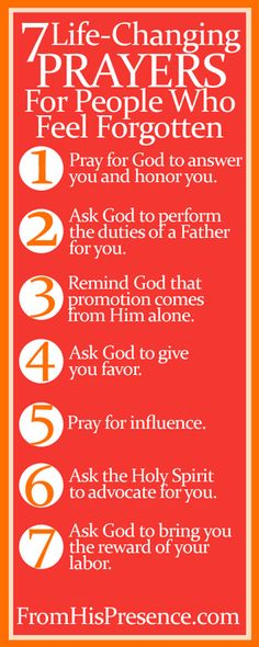 Encouraging Word & Free Printable Bookmark of All 7 Life-Changing Prayers