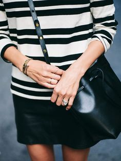 Bucket Bag styling and inspiration