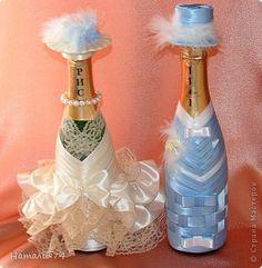 Мои Бутылки Жених и Невеста. | Страна Мастеров