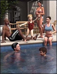 Pool Party Poses V4 M4 K4