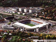 Capacity: 25 Home of Vålerenga Football Club Football Stadiums, Oslo, Norway, Roots, France, Club, Spaces, Mansions, House Styles