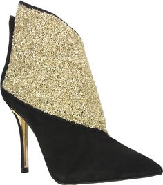 Carrano Katrina - Dress Pointy Toe Bootie  Leather Nubuck