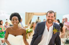 Beautiful Beach Wedding in The Turks & Caicos Islands - Bridal Musings Wedding Blog
