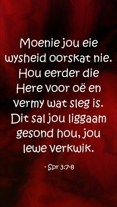 #Godeerste Afrikaans, Prayers, Van, Motivation, Vans, Beans Recipes, Determination, Inspiration