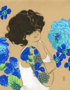 stasia burrington's blue rose