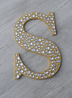 Sparkle Gold Bling Decorative Wall Letters, Wedding Decor, Girls Bedroom Decor, Nursery Wall Letters - Home Page Diy Letters, Letter A Crafts, Wood Letters, Alphabet Letters, Letter Wall Decor, Diy And Crafts, Arts And Crafts, 3d Laser, Wedding Decorations