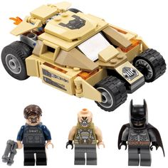 LEGO just unveiled two more new sets as part of their LEGO Super Heroes Line. The LEGO Marvel Super Heroes 76005 set is titled Spider-Man: Daily Bugle Showdown and The Bat v. Bane: Tumbler Chase is the title of the LEGO DC Super Heroes set 76001.