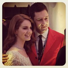 Grammy.com blogger @arjanwrites w @lanadelrey at the P Wing event honoring Jimmy Iovine #GRAMMYs - @thegrammys | Webstagram