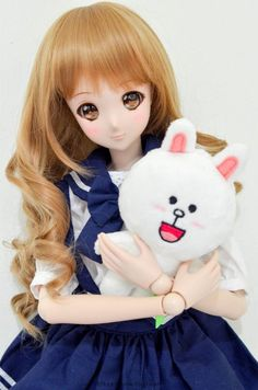 Mirai Suenaga Smart Doll by teptepp_ Anime Dolls, Bjd Dolls, Barbie Dolls, Kawaii Doll, Anime Kawaii, Pretty Dolls, Beautiful Dolls, Doll Museum, Disney Princess Pictures
