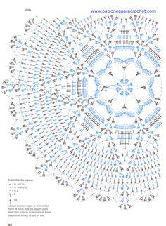 s 124 — Yandex. Crochet Doily Diagram, Crochet Mandala Pattern, Crochet Circles, Crochet Chart, Filet Crochet, Crochet Patterns, Crochet Books, Crochet Home, Thread Crochet