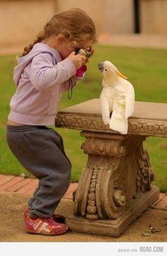 ♥Hold still pretty birdie...