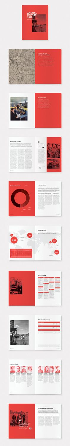 Annual report 2012 for consumer electronics company Off/On, Based in Brooklyn, New York. Graphic Design : Ryan Stannage